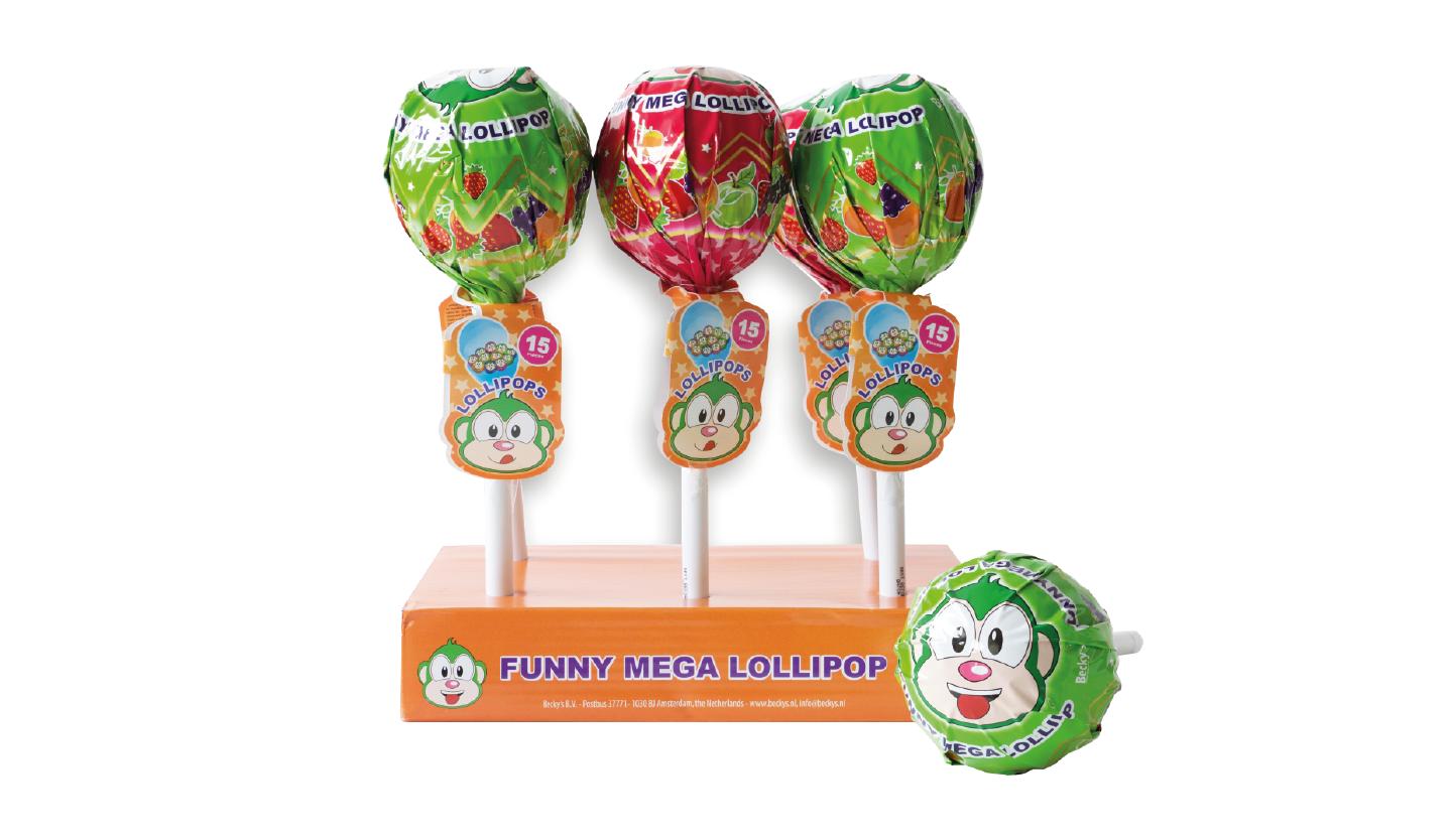 Funny mega lollipop