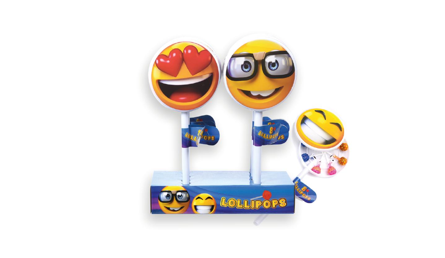 Smiley lollipop XL