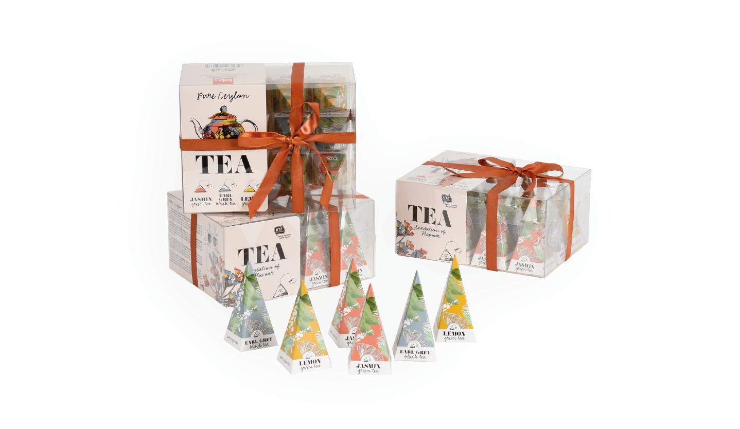 Pyramid tea box